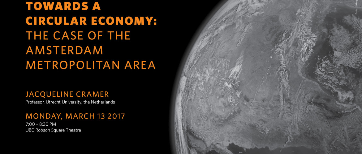 "Join us for ""Towards a Circular Economy"" on Marc h13"